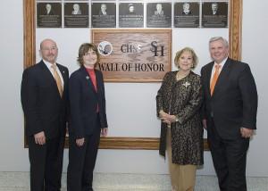 Wall of Honor Sam Houston State University