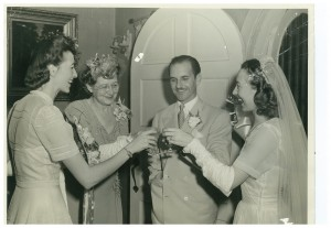 Miami Wedding Jan. 1945 Real love
