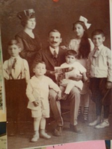 The Castillo family circa 1920