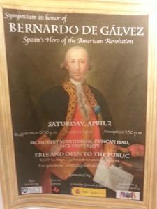 Bernardo de Galvez Symposium