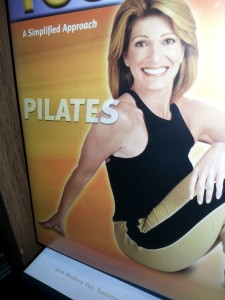 Exercising Pilates