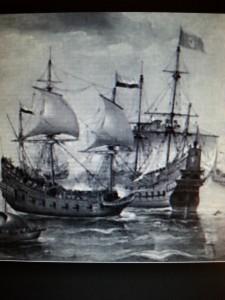 Silver fleet bound for Seville