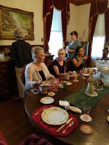Breakfast at The Victorian Inn, Galveston